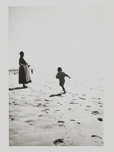 Mother and son, North Beach, Durban | Goldblatt, David | V&A
