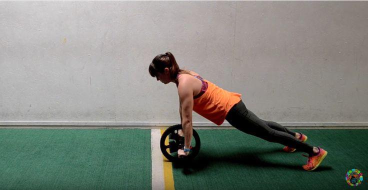 La rueda abdominal o power wheel consigue una mayor activación del abdomen