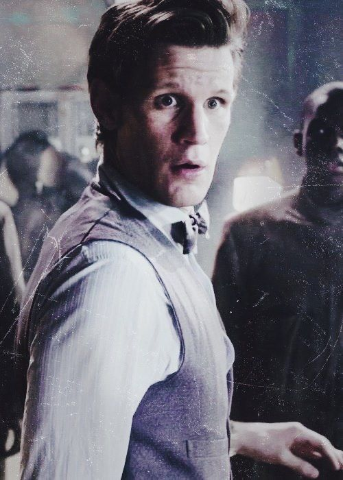 The Doctor in Journey to the center of the Tardis