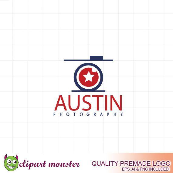 Austin Photography Logo Design Premade Texas By