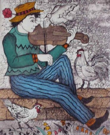 AninE BARNARD artist painter.