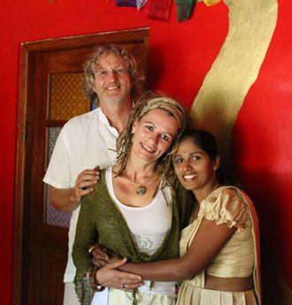 Alfons Stücke & Edna Möller :: Sri Lanka Gemeinsam mit Ihrer Partnerin engagieren sie sich seit Jahren für nachhaltige Entwicklung in Sri Lanka Willkommen auf ihrer ECO Lodge Singharaja Garden