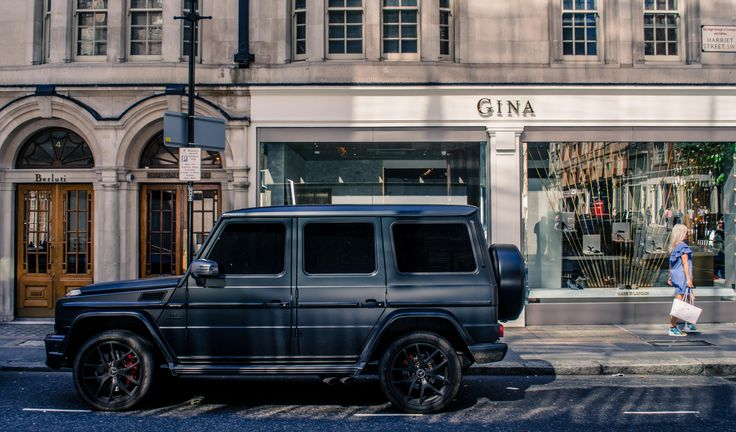 Mercedes G Series in London [OC] [4851x2848]