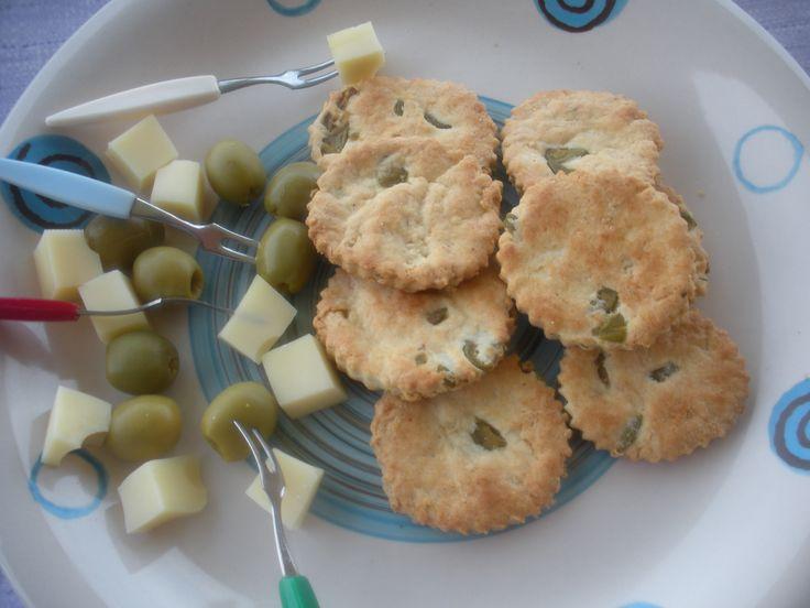 Biscotti salati agli aromi
