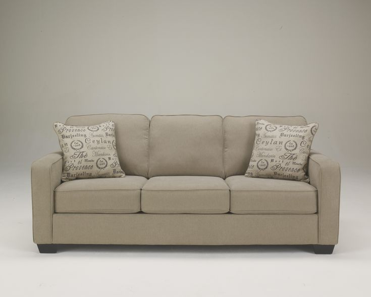 1660038|Signature by Ashley Alenya - Quartz Sofa Quartz | Ernie's in  Ceresco | Ceresco
