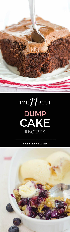 The 11 Best Dump Cake Recipes