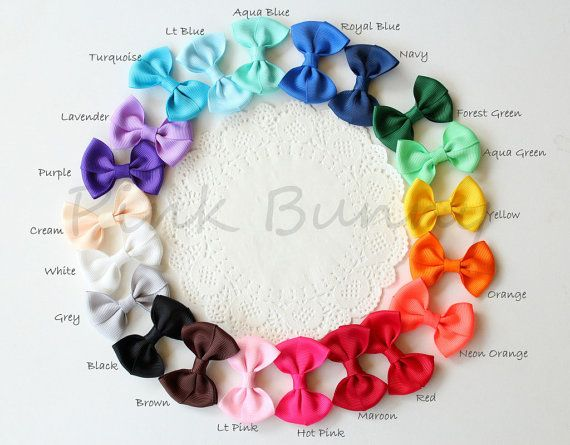 Choose any 6 Baby / Girls Hair Clip / Clips / Bows by PinkkBunnyy, $13.00