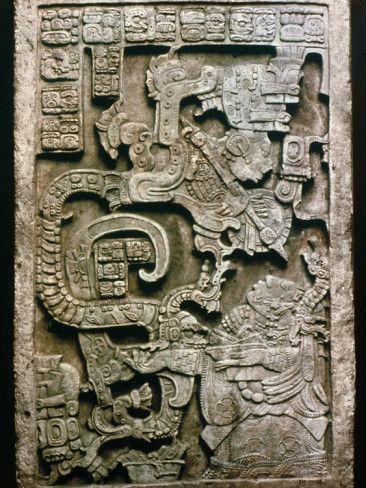 Aztec Print Ceramic Tile