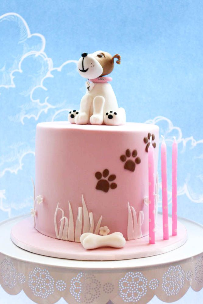 Cake Design For Dog : Cakes: Cat, Dog, Pets : une collection d idees que vous ...