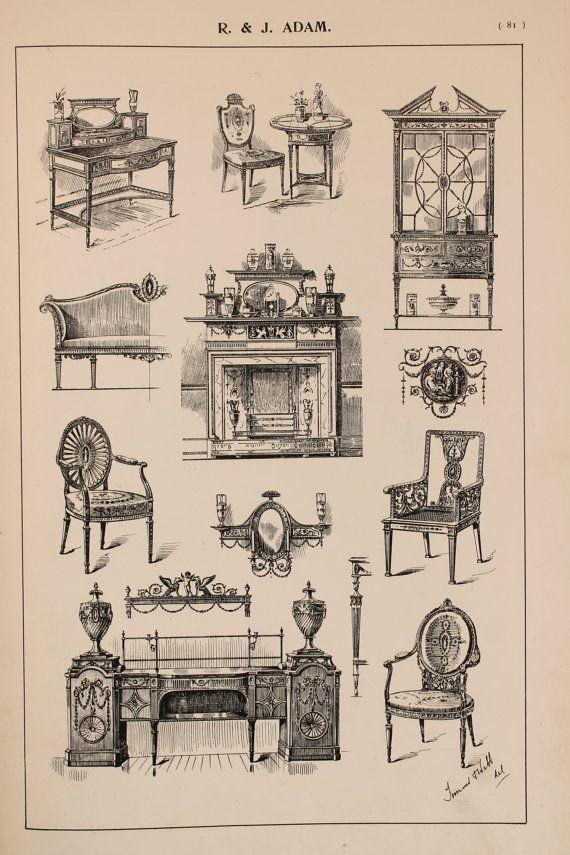 styles of furniture design. english robert adam furniture designs large by paperpopinjay styles of design