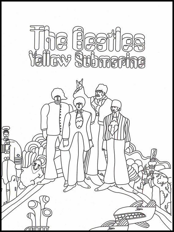 The Beatles 10 Dibujos Faciles Para Dibujar Para Ninos Colorear Dibujos Faciles Para Dibujar Dibujos Faciles Beatles