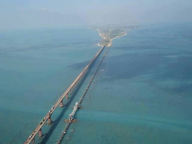 Pamban Bridge, India