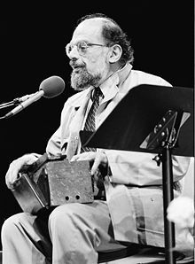 "Irwin Allen Ginsberg (play /ˈɡɪnzbərɡ/; June 3, 1926 – April 5, 1997) was an American poet and one of the leading figures of the Beat Generation in the 1950s. He vigorously opposed militarism, materialism and sexual repression. Ginsberg is best known for his epic poem ""Howl"", in which he celebrated his fellow ""angel-headed hipsters"" and harshly denounced what he saw as the destructive forces of capitalism and conformity in the United States."
