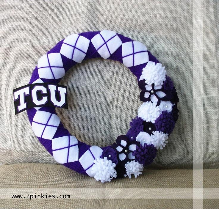 TCU Wreath