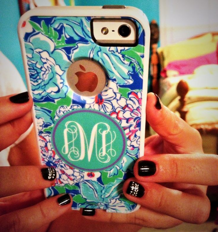 Monogrammed Otter Box iPhone 5 Case