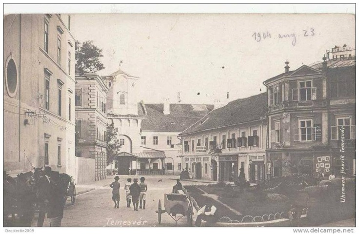 Timisoara - Piata Sf. Gheorghe - 1904