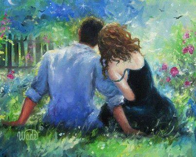 O amor, ao contrário da paixão só nasce no terreno da confiança e é o cuidado diário que o faz florescer.  Rosi Coelho