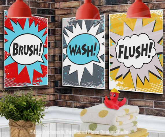 PRINTABLE Super hero Bathroom Wall Art Kids Bathroom Wall Decor Superhero Wall Art Superhero Wall Decor Superhero Theme Bathroom Superhero Bathroom Decor Kids Bathroom Wall Art Kids Bathroom Themes Kids Bathroom Ideas Kids Bathroom Decor Boys Bathroom Decor Boys Bathroom Ideas Boys Bathroom Signs Kids Bathroom Signs Boys Bathroom Themes by OurSecretPlace