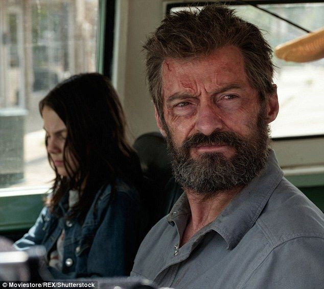 Not that easy: While seeming confident his ninth appearance as Wolverine in the upcoming film Logan would be his last, it was clear it wasn't simply a matter of walking away:'This is a character I love. I owe my career to this character' he revealed