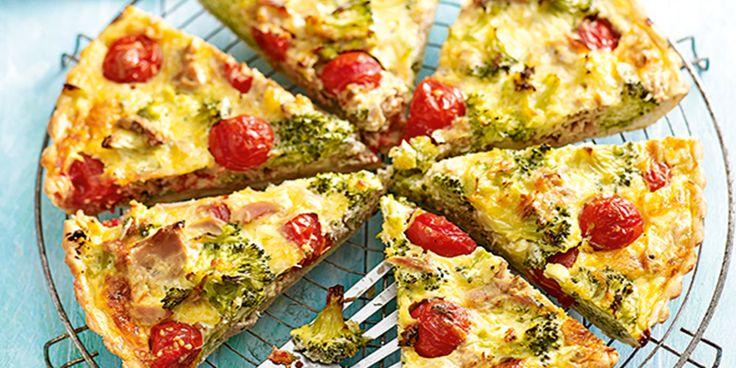 Broccoli over? Maak er een hartige taart van!