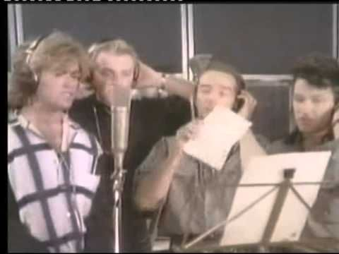 <3 Band Aid 1984 - Do They Know It's Christmas (Official Video 1984)..Damn! What a fantastic song. <3