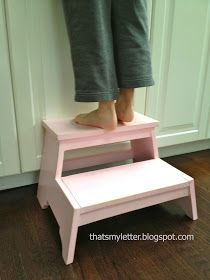 "That's My Letter: ""K"" is for Kids Step Stool"