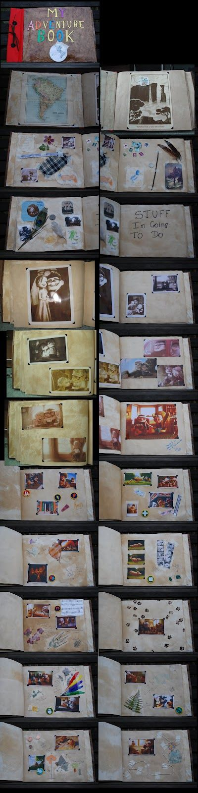 Sasaki Time: Amazing Handmade 'My Adventure Book' from UP!
