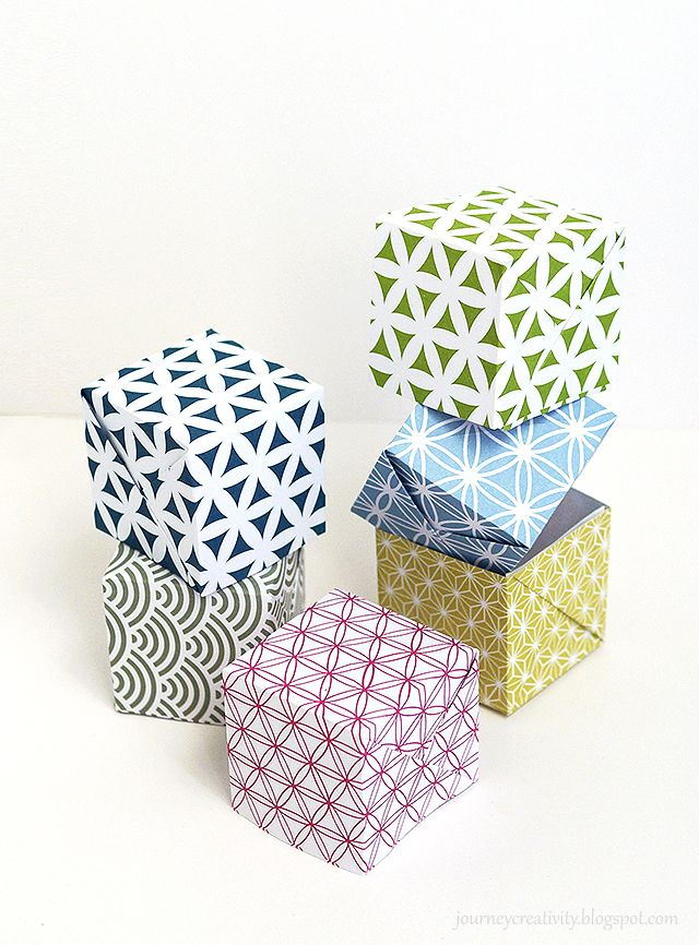 Journey into Creativity: Origami boxes