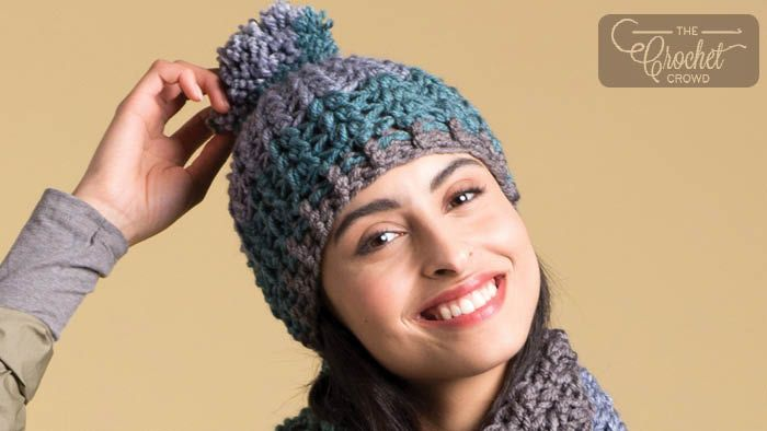 Crochet Artsy Puff Stitch Hat + Tutorial | Wanna Crochet | Crochet