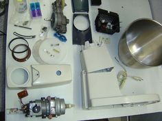 Picture of Restore A707 major Kenwood mixer.