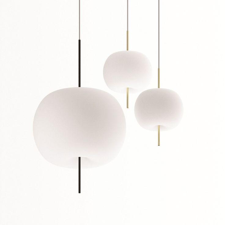 Kushi Pendant by Kundalini  sc 1 st  Pinterest & 174 best Lighting images on Pinterest | Glass ball Light led and ...