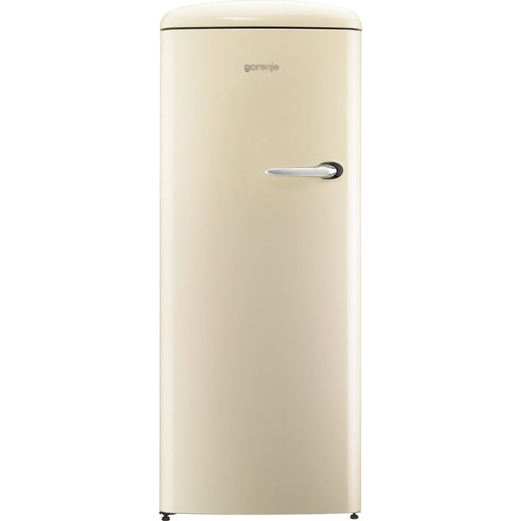Gorenje 60cm Freestanding Retro Fridge With Ice Box Left Hinge ORB153C-L