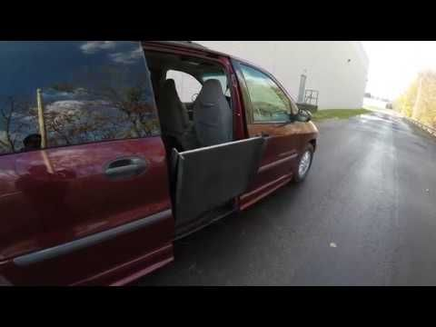 1999 Ford Windstar Handicap Ramp & Swivel Seat Operation