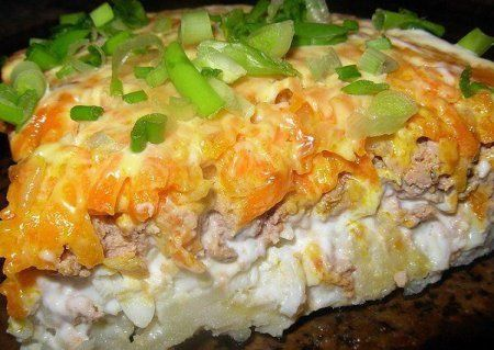 Салат печень говяжья картошка яйцо морковка