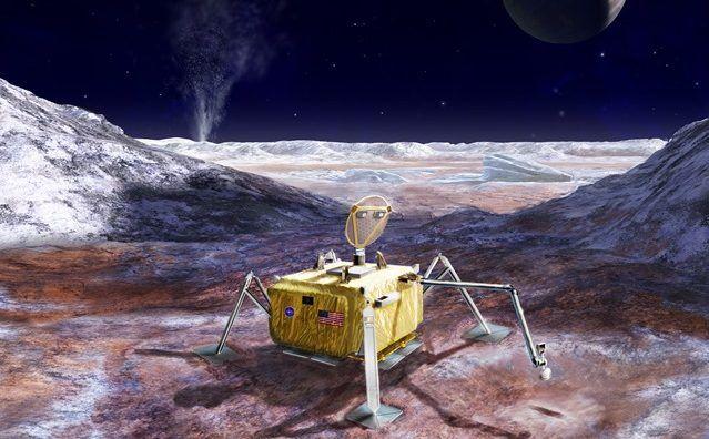 La NASA présente son plan pour visiter Europe lune des lunes les plus susceptibles dabriter une vie extraterrestre