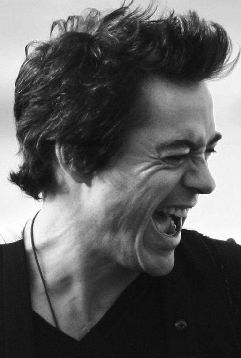 Robert Downey Jr- Hair Style