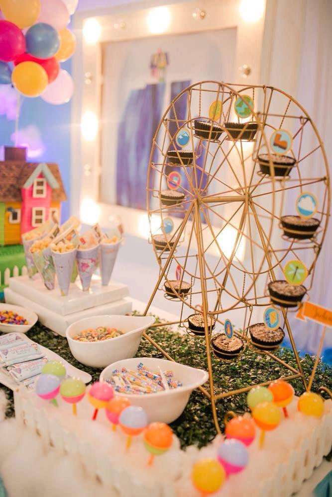 Movie Themed Birthday Cake Decorations