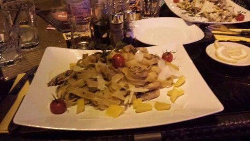 """At """"Sufni"""" in Pecs...how delicious..."""