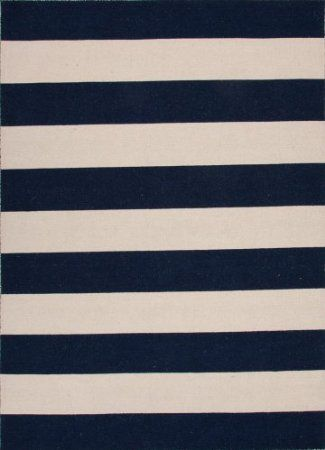 Amazon.com: Jaipur Pura Vida Tierra Flat Weave Stripe Pattern Wool Handmade Rug: Furniture & Decor
