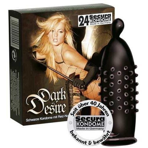Secura Dark Desire - 24 Stk. - Tilbud: 159,00. Køb billigt Kondomer