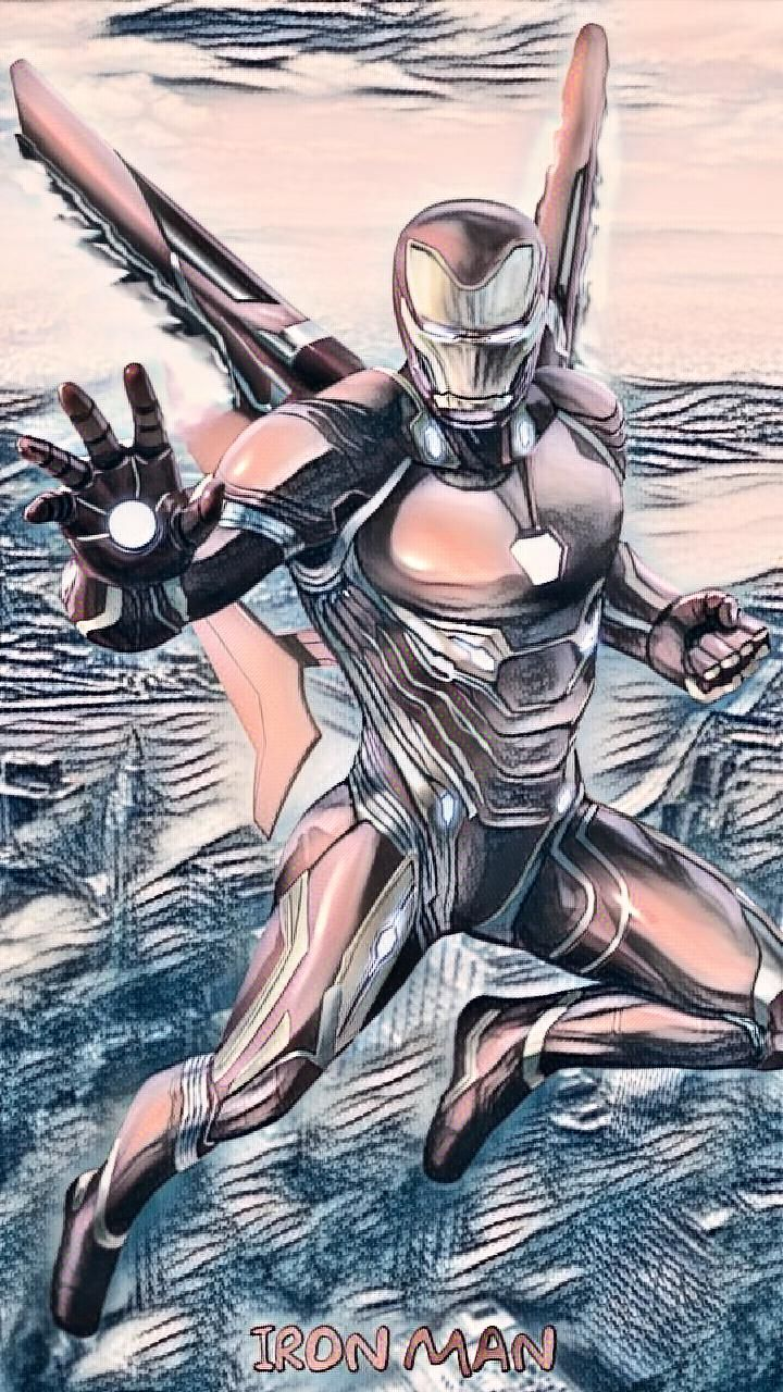 Edited at Iron man, Man, Anime