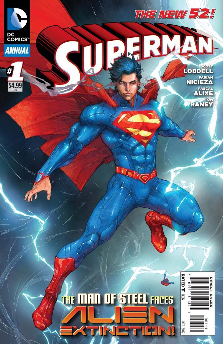 Superman Annual #1 from 2012.
