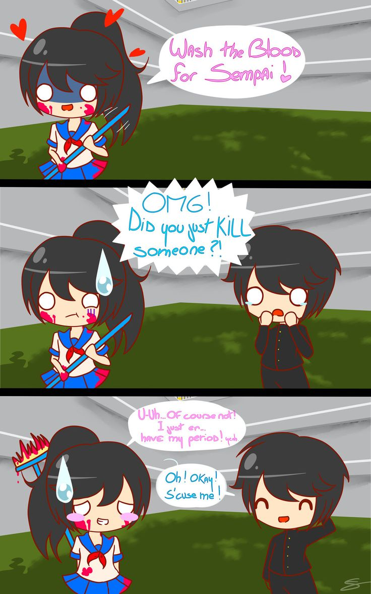 Yandere Simulator - It's not what you think ! ^^' by Al-chan-FNAF