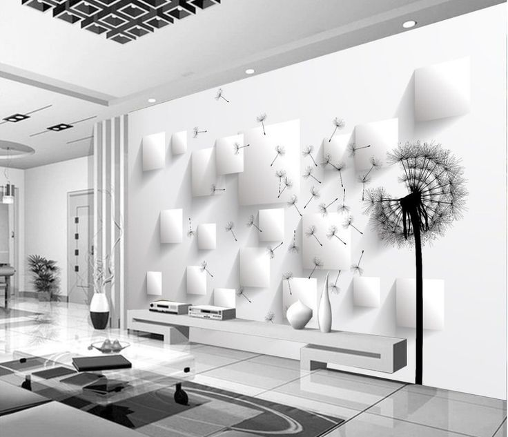 17.28$  Buy here - http://alijry.shopchina.info/go.php?t=32732868709 - Home Decoration wall mural photo wallpaper Dandelion wallpapers for living room 3d nature wallpapers  #bestbuy
