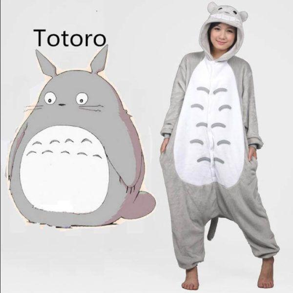 Totoro Pajama Cartoon Onesies for adult