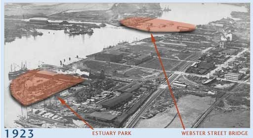 Port of Oakland - 1923