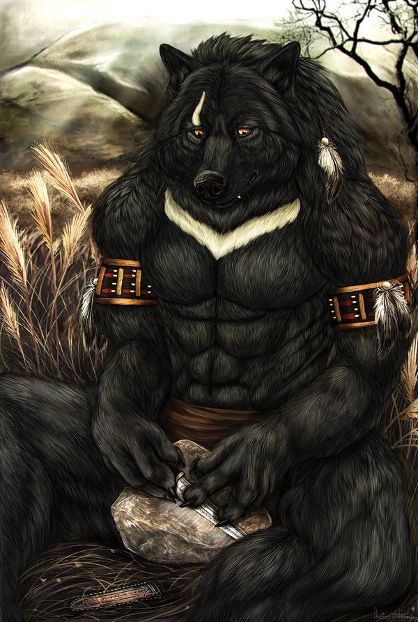 Silver-Fang by AnsticeWolf