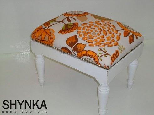 Características:  .Tachas cromadas   .Hechos con los almohadones más representativos de Shynka: Hippie, Blossom, Timbaktu, Mandala y Patch.    Son estampados y bordados en poplines, gabardinas y arpillera
