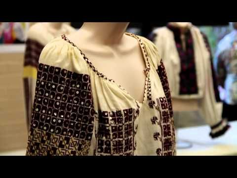 ▶ Romanian Traditional Dress Exhibition in L.A. - Daniela Ionescu's Collection - YouTube