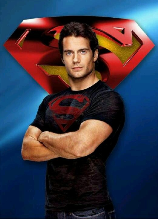 "Man of Steel... Henry Cavill   ""I'm sorry, sir. I just think he's kind of hot.""  Haha. No kidding!"